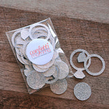 Engagement Ring Confetti 40CT. Ships in 1-3 Business Days. Bachelorette Party Decorations. Bridal Shower Decor.