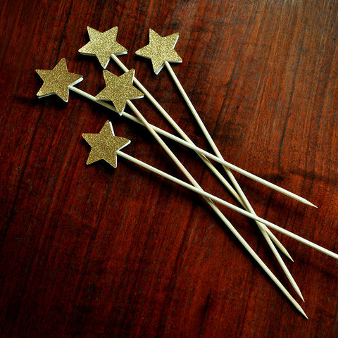 Twinkle Twinkle Little Star Birthday Star Floral Picks.  Ships in 1-3 Business Days.  Star Centerpiece Picks.