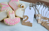 Swan Thank You Tags. Handmade in 1-3 Business Days. Swan Party Favors. Personalized Thank You Tags. Set of 10 Tags.