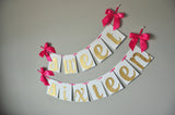 Sweet Sixteen Party Decorations. Ships in 1-3 Business Days. Sweet Sixteen Birthday Banner.