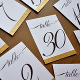 Table Numbers 1-30. Script Table Numbers. Handmade in 1-3 Business Days. Table Numbers 1-30 Glitter. Glitter Table Numbers for Weddings.