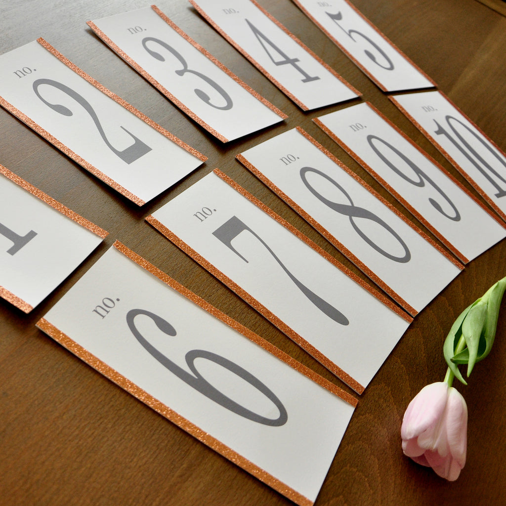 Table Numbers. Tall Wedding Centerpiece. Hand Crafted in 1-3 Business Days. Tall Table Numbers 1-10. Rose Gold Table Numbers.