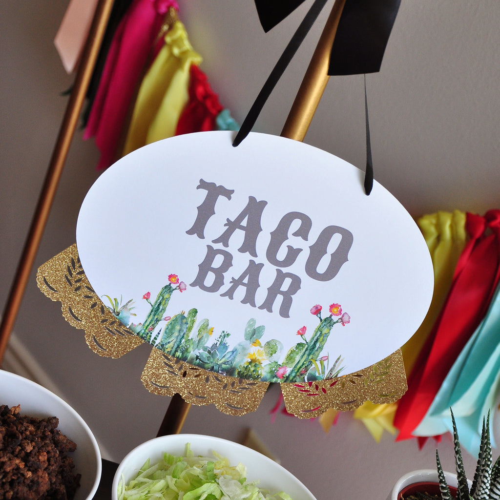 Taco Party. Taco Bar Sign. Fiesta Baby Shower. Final Fiesta. Taco Bout Love.