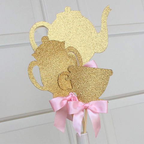 Alice in Wonderland Party Decoration.  Ships in 1-3 Business Days.  Tea Party Centerpiece 3CT.