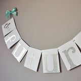 The Future Mrs. Banner for Bridal Shower Decorations.  Ships in 1-3 Business Days.