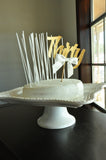 Thirtieth Birthday Decor. Handcrafted in 1-3 Business Days. 30th Cake Topper with Candles.