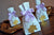 Unicorn Party Supplies. Unicorn Party Favors. Mini Party Favor Bags with Unicorn and Bows. 10CT. W36MFB.