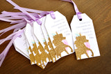 Unicorn Thank You Tags. Unicorn Party Favors. Handcrafted in 1-3 Business Days. Personalized Thank You Tags. 10CT.