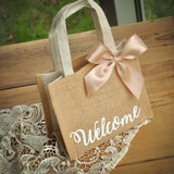 Wedding Guest Gift Bag (Qty. 1). Handcrafted in 1-3 Business Days.  Hotel Welcome Bag. MJ586.