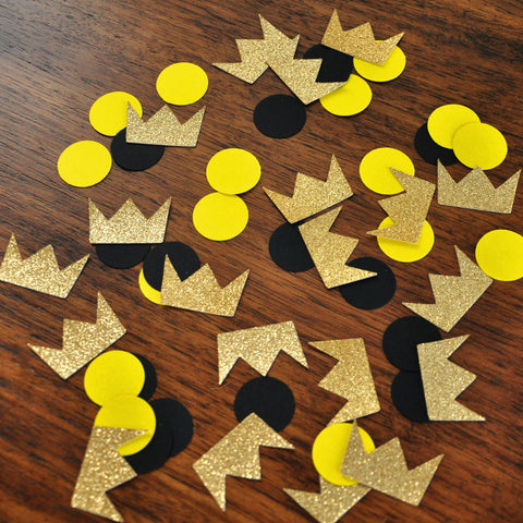 Wild One Birthday Decorations. Wild One Confetti 50CT. Where the Wild Things Are Party Supplies.