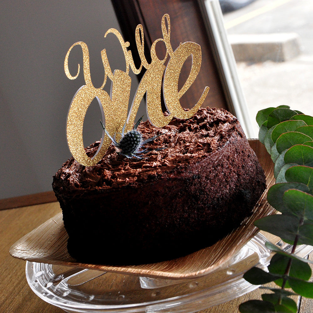 Wild One Cake Topper for Tribal Party. Ships in 1-3 ...