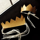 Wild One Party Favor. Handcrafted in 1-3 Business Days.  Wild One Crowns Set of 5. Young Wild and Three Party Favors.