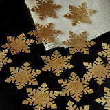 Winter Onederland Party Supplies. Handcrafted in 1-3 Business Days.  Large Snowflake Confetti 20CT. Gold Snowflake Confetti.