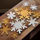 Winter Onederland Party Decoration Photo Backdrop.  Ships in 1-3 Business Days.  Jumbo Snowflake Wall Confetti 12 CT.