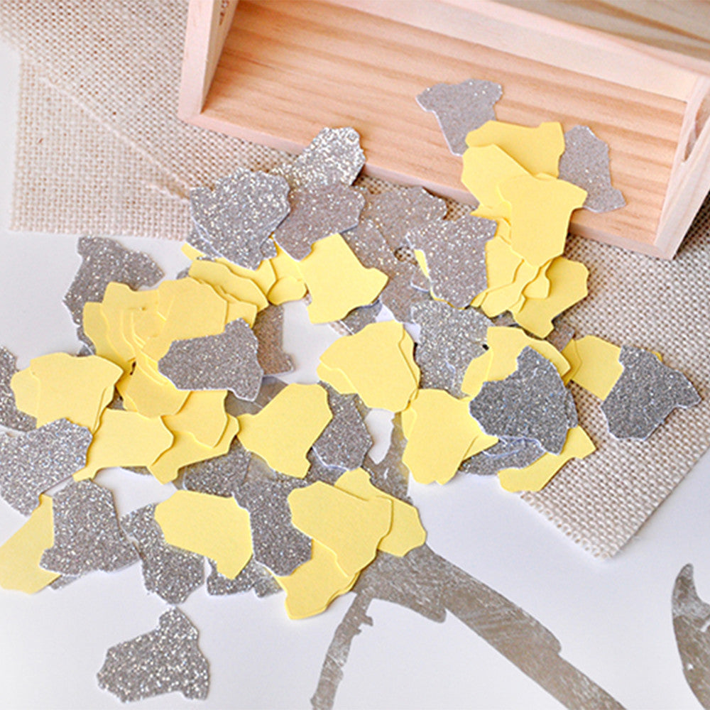 Gender Neutral Baby Shower Decoration Ships In 1 3 Business Days Yel Confetti Momma