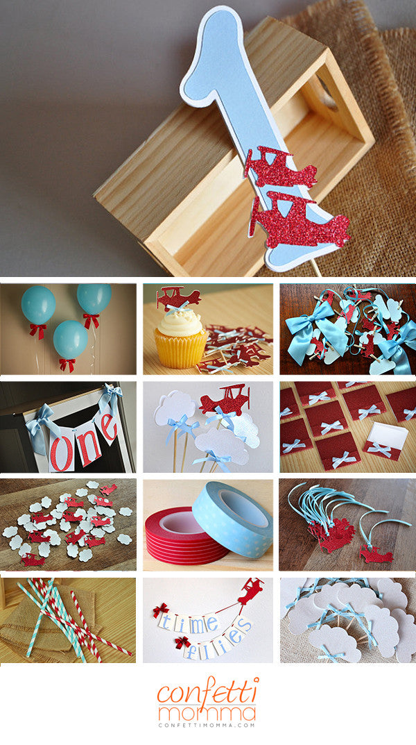 Airplane Cake Topper. Ships in 1-3 Business Days. Airplane ...