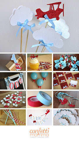 Airplane Party Decoration Ships In 1 3 Business Days
