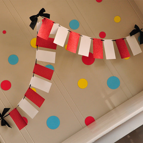 Circus Party Decorations. Ships in 1-3 Business Days. Circus Tent Banner. Carnival Birthday Decor.