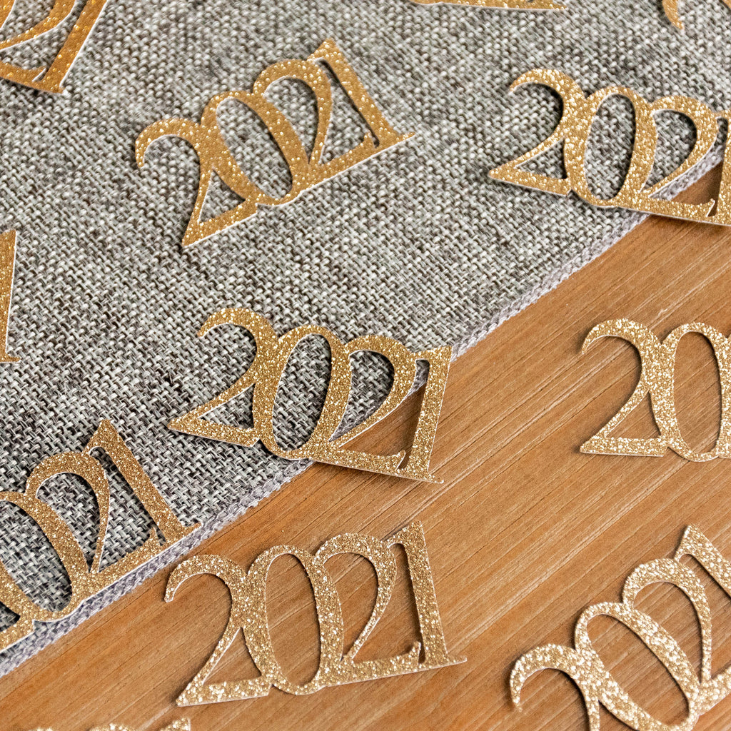 2021 New Years Eve Confetti 25CT. Handcrafted in 1-3 Business Days. New Years Eve Party 2021.