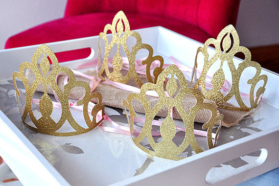 pink and gold birthday party decoration  ships in 1