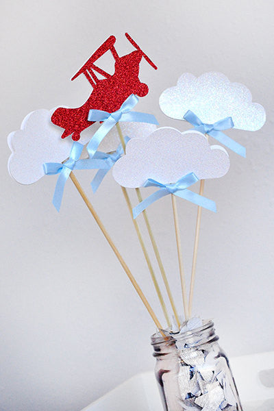 airplane party decoration  ships in 1