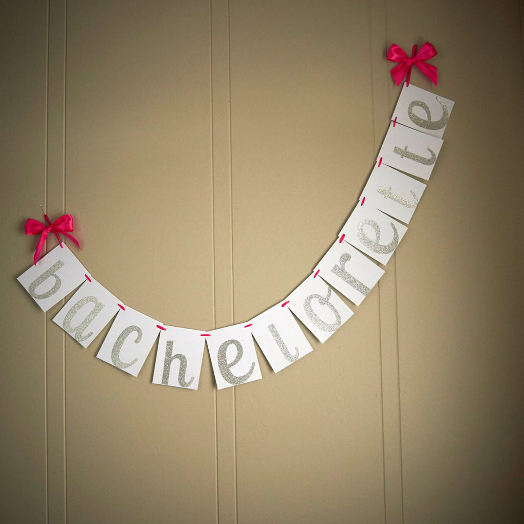 Bachelorette Party Decorations.  Ships in 1-3 Business Days.  Bachelorette Banner.  Party Banner.