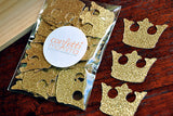 Royal Prince Baby Shower Decorations.  Ships in 1-3 Business Days.  Crown Confetti. 50CT.