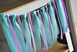 Under the Sea Party Supplies.  Ships in 1-3 Business Days.  Ribbon Highchair Garland.