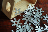Snowflake Confetti 25CT.  Ships in 1-3 Business Days.  Snowflake Birthday.
