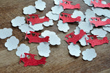 Airplane Party Decorations. Ships in 1-3 Business Days. Time Flies. Airplane and Cloud Confetti 50CT.