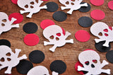 Pirate Birthday Decoration. Ships in 1-3 Business Days. Skull and Crossbones Confetti 50CT.