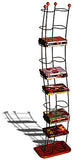 Wave Innovative Modern-Style Steel 74 DVD Storage Tower
