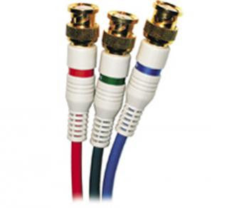 12' HDTV to 3BNC to 3BNC Component Video Cables