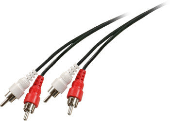 50' 2RCA to 2RCA Cable Assembly