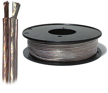 100' 16-Gauge Clear Jacket Speaker Wire