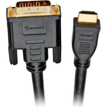 30' DVI-D To HDMI Digital Video Cable