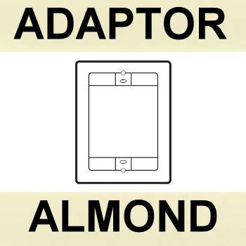 ALMOND - Adaptor Plate for Nutone Door Station