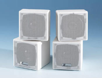 "3"" MINI CUBE SPEAKER (WHITE)"