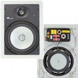 "8"" ALUMINUM IN-WALL SPEAKER"