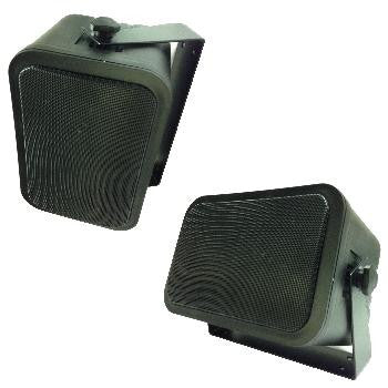 "4"" 2-Way Indoor-Outdoor Speakers"