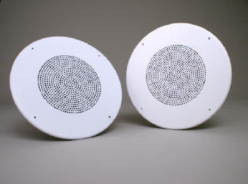 "8"" Speaker with ABS PLASTIC grill and VOLUME CONTROL - Screwdriver Adjust"