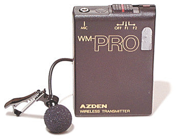 Pro Series Wireless Lapel Microphone and Transmitter
