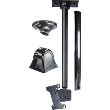 Black Ceiling Mount with Adjustable Drop Length