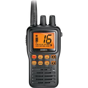 Compact Hand-Held JIS8 Submersible Marine Radio