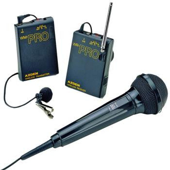 Lavaliere System with hand held mic