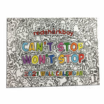 2021 Color-Your-Own Wall Calendar - Can't Stop Won't Stop