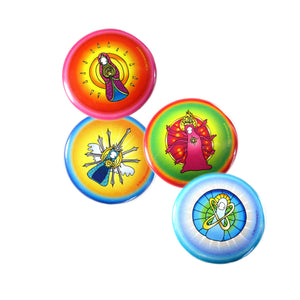 Intention Buttons - Series II (Set of 4)