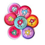 Loveworld Mini Buttons (Set of 7)