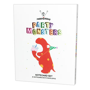 Party Monsters Birthday Notecards (Set of 8)