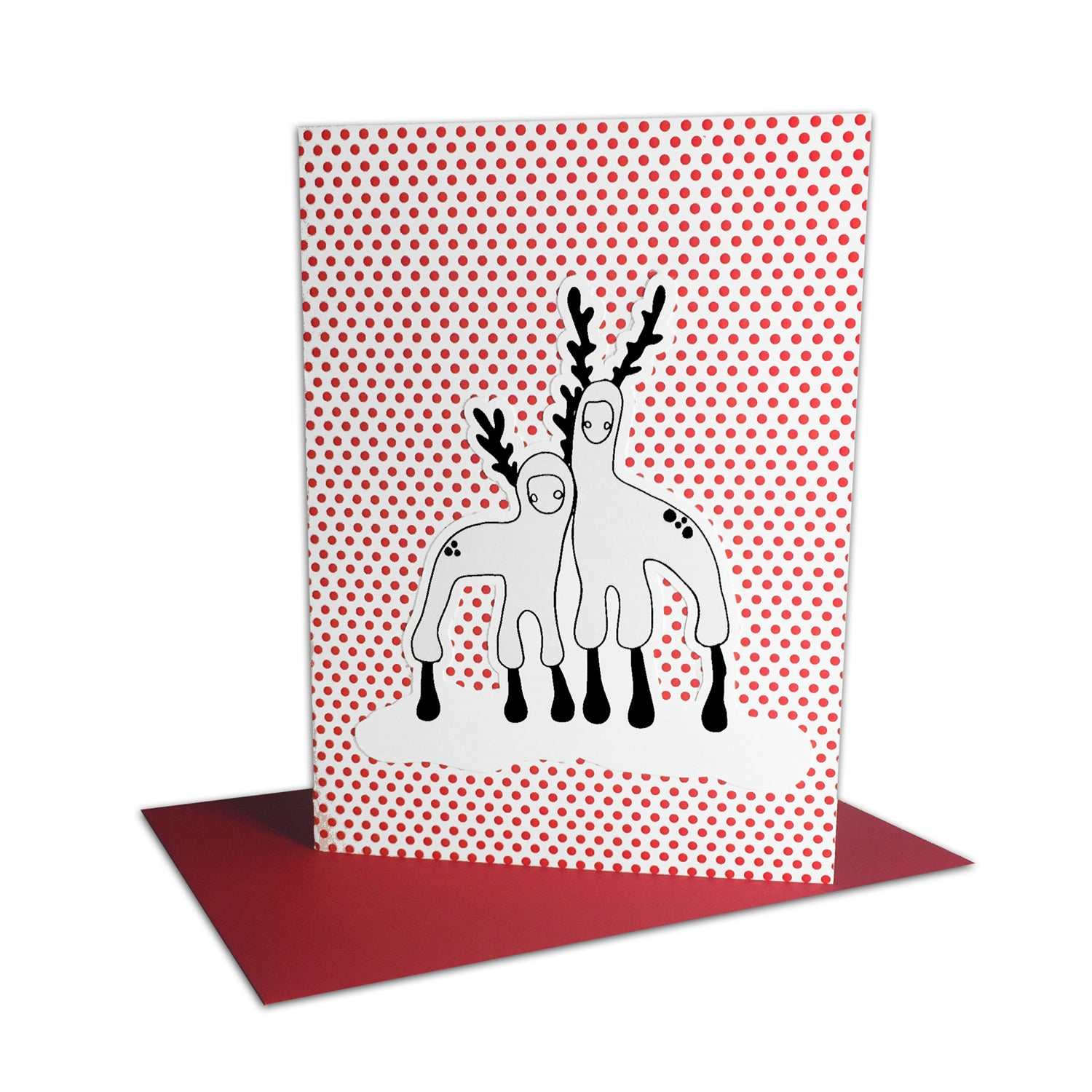 Pop-Up Holiday Card: Reindeer